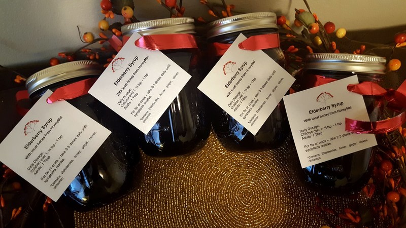 3 Month Subscription of 12oz Elderberry Syrup