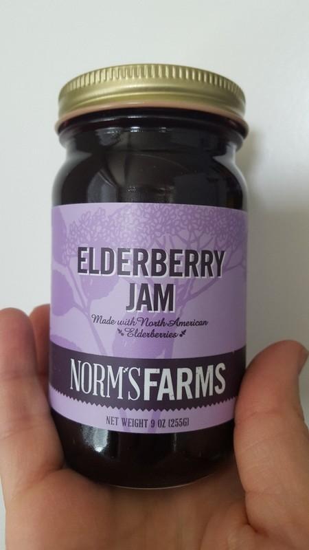 Norm's Farms Elderberry Jam