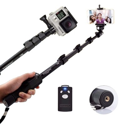 Handheld Bluetooth Selfie Stick Monopod Self Pole for Mobile Phones - VT 1288