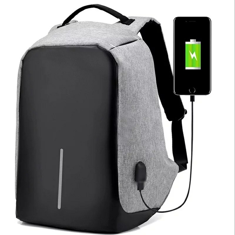 Anti-Theft Laptop Backpack Travelbag with USB port (Unisex bag)