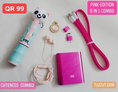 CutenessCOMBO™ - PinkEdition 6 in 1 Combo