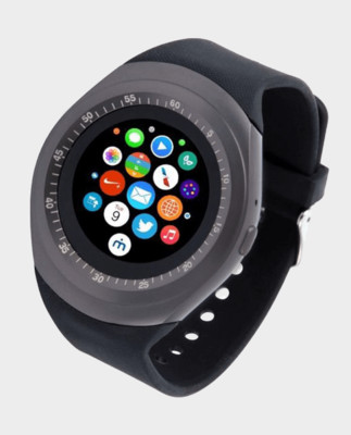 G-Tab Smart Watch - Black - W307