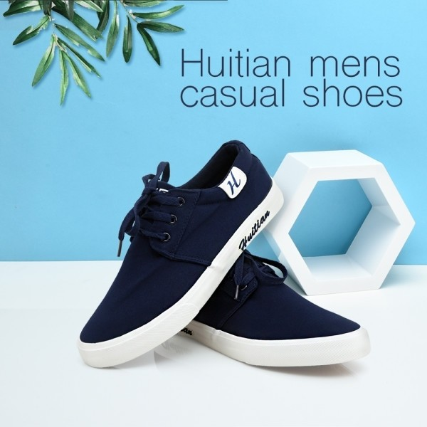 Huitian Men's Casual Shoes - Blue