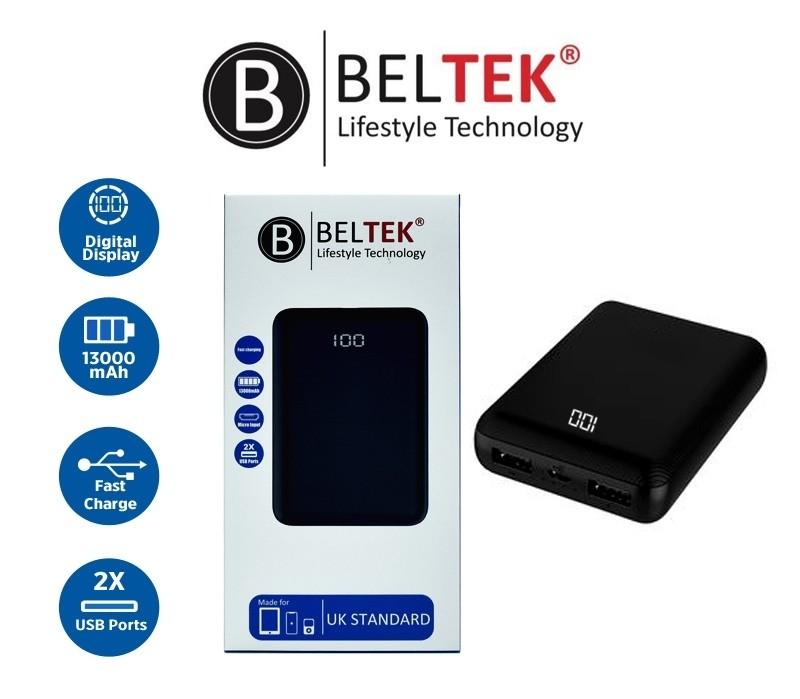 BELTEK POWER BANK 13000 SLIM - BPB-101