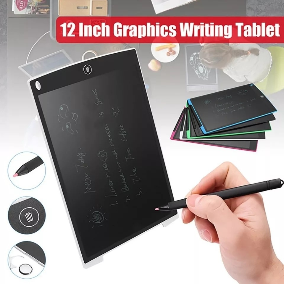 12 Inch digital drawing Tablet handwriting Pads LCD Writing board Electronic graphicsTablet Board