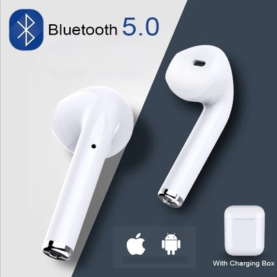 i7 Mini TWS Bluetooth 5.0 Headset Mini Earbuds with Magnetic Charging Box