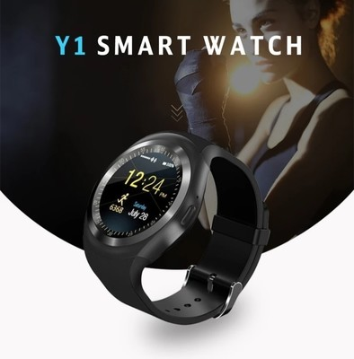 Smart watch with Sim card and Bluetooth- Y1