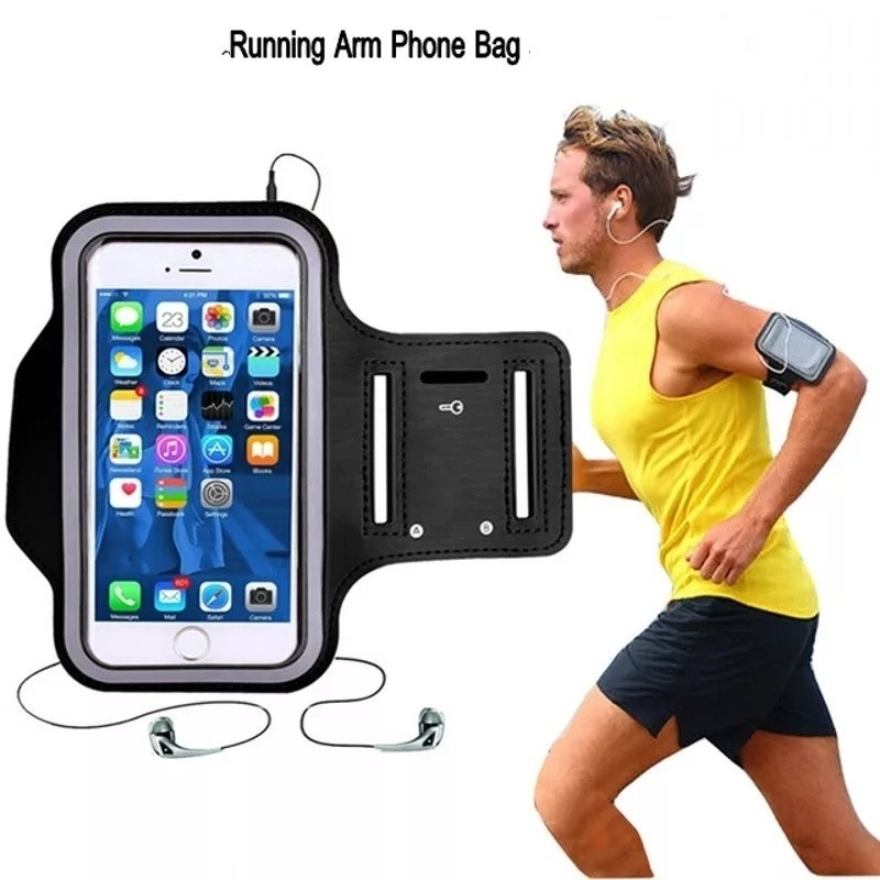 Running Arm Bag Phone Holder- Sports Armband Pouch - Assorted Colors