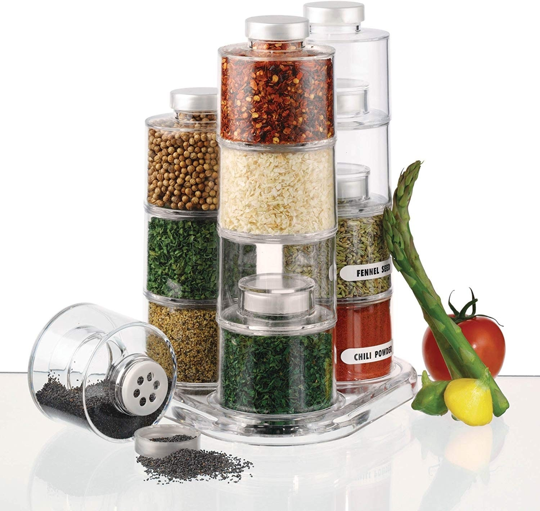 Spice Tower Carousel, 12-Bottle