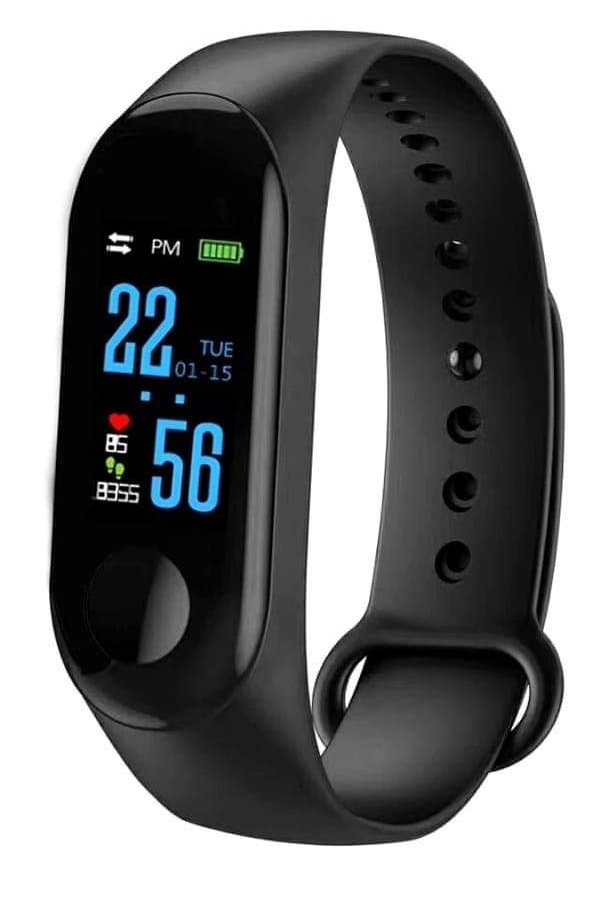 M3 Band Fitness Tracker Waterproof Smartband with OLED Display Touchpad