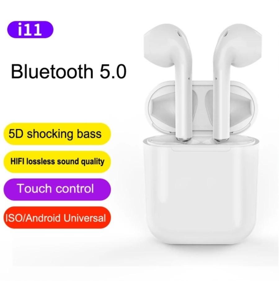 NEW! i11 TWS Wireless Bluetooth Earbuds