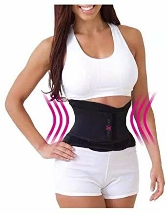 Miss Belt Adjustable Waist Shaper, Slimming Hourglass Belt, Back Support, S/M