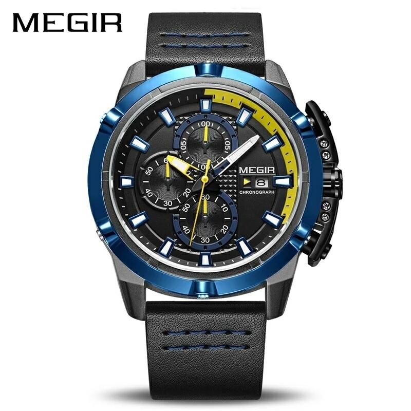MEGIR men's quartz sports watch 2062