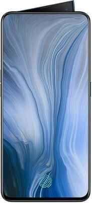 Oppo Reno 6.4 inch Size 16MP Front and 48MP+5MP Rear Camera, Android 9, Jet Black, CPH1917