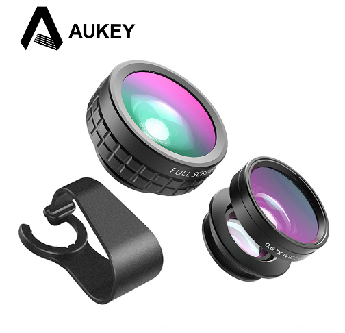 AUKEY 3 in 1 high quality Mini Phone Camera Lens Kit