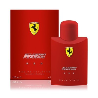 Ferrari Scuderia Red For Men - 125ml