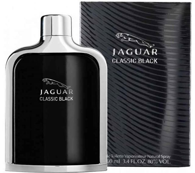 Jaguar Classic Black For Men -Eau de Toilette, 100ml