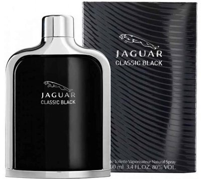 Jaguar Classic Black For Men -Eau de Toilette, 100ml