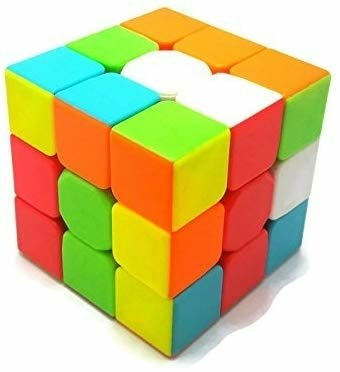 Rubik's Cube with Solution, High Stability, Tight adjustable 3X3
