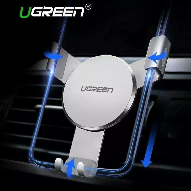Ugreen Car Holder -Gravity Reaction Air Vent Mount Mobile Phone Holder