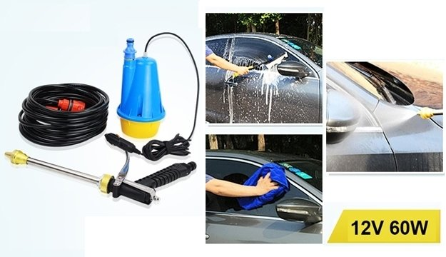 On-Board Portable Car Washing Machine Pressure Washer