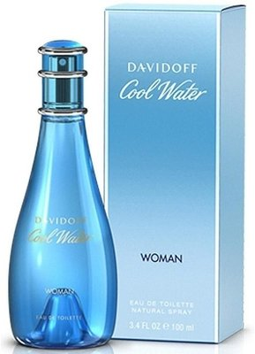 Cool Water by Davidoff for Women - Eau de Toilette, 100ml