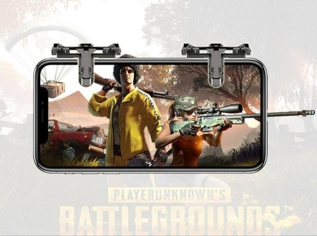 1 Pair PUBG Mobile Game Controller Trigger
