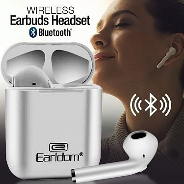 Earldom Wireless 5.0 BT Version Bluetooth Earbuds Headset, ET-BH16