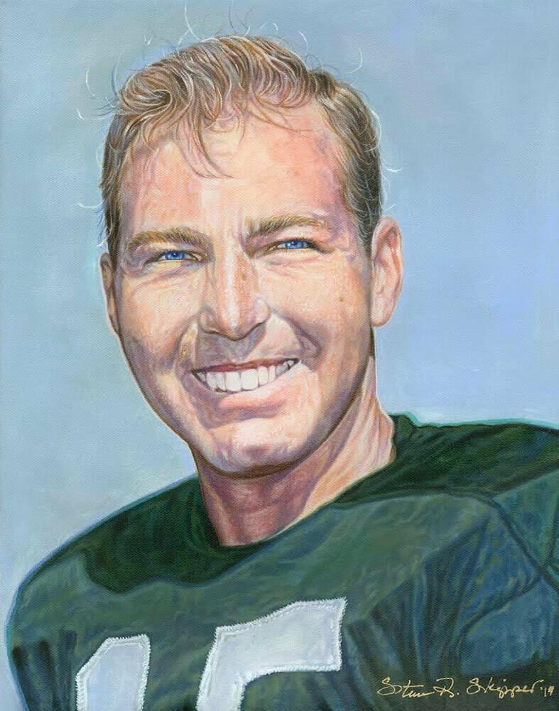 The Respected Legend- Bart Starr Portrait
