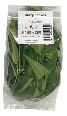 Fresh Organic Curry Leaves - 1.0 oz (With Stems)