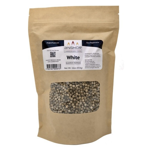 White Kampot Pepper - 16 oz (454g)