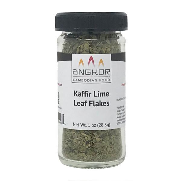 Kaffir Lime (Makrut Lime) Leaf Flakes - 1.0 oz (28.3g)