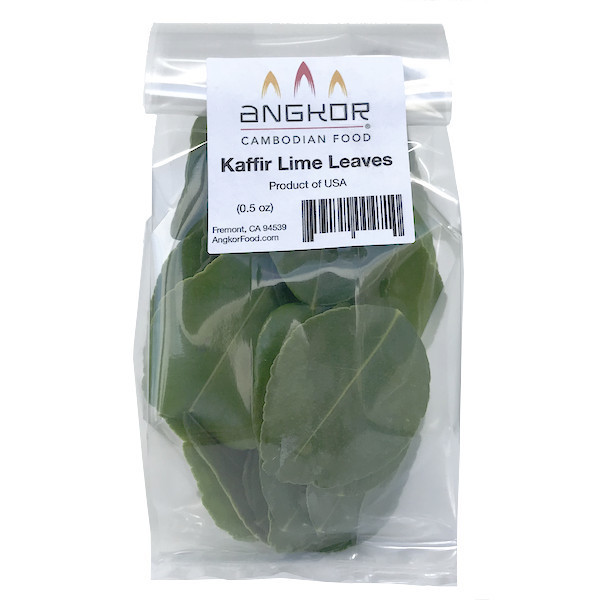 Fresh Organic Kaffir Lime Leaves - 0.5 oz