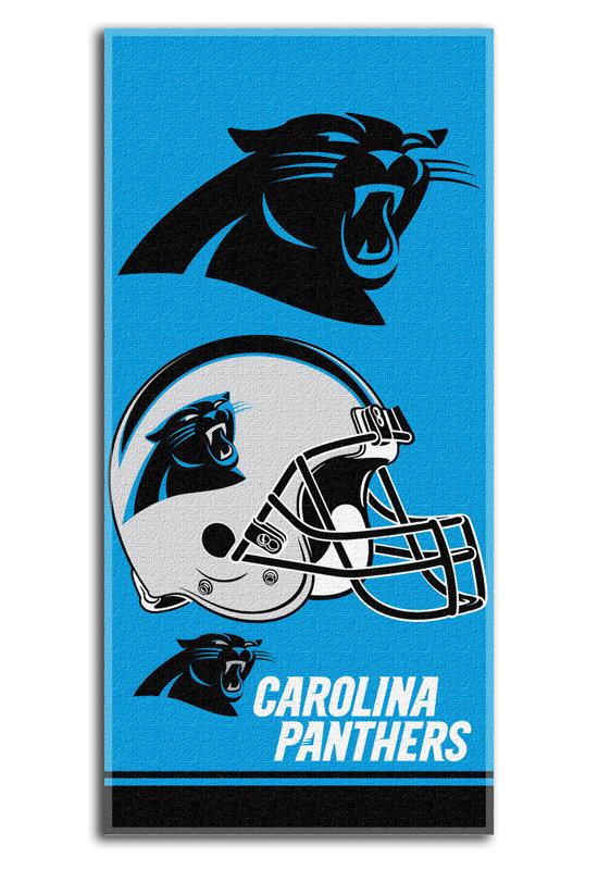 NFL CAROLINA PANTHERS BEACH TOWEL