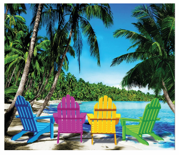 BEACH CHAIRS BEACH BLANKET