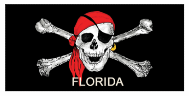 BUCCANEER BEACH TOWEL