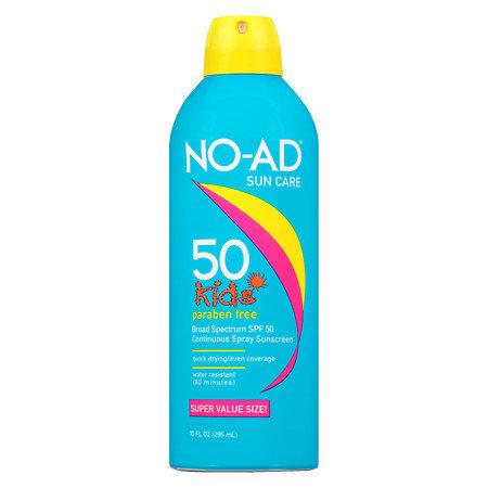 NO AD SUNCARE KIDS SUNSCREEN SPRAY SPF 50