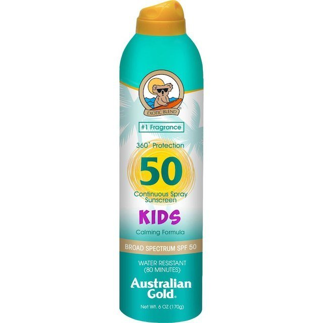 AUSTRALIAN GOLD KIDS CONTINUOUS SUNSCREEN SPRAY SPF 50