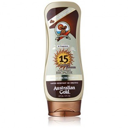 AUSTRALIAN GOLD LOTION SUNSCREEN WITH BRONZER