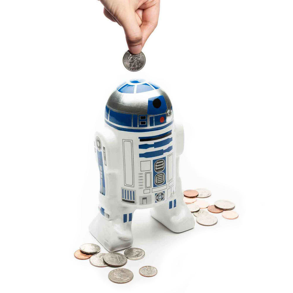 OFFICIAL NEW STAR WARS R2-D2 COIN BANK
