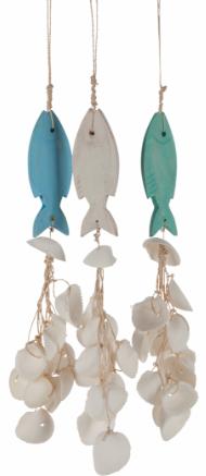 "Shell Hanger & Fish 20"""