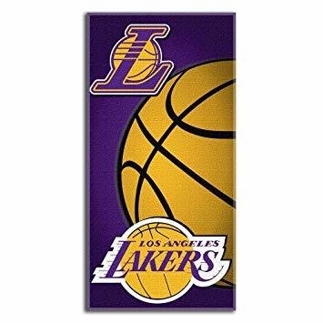NBA Los Angeles Lakers Beach Towel 30 in X 60 in