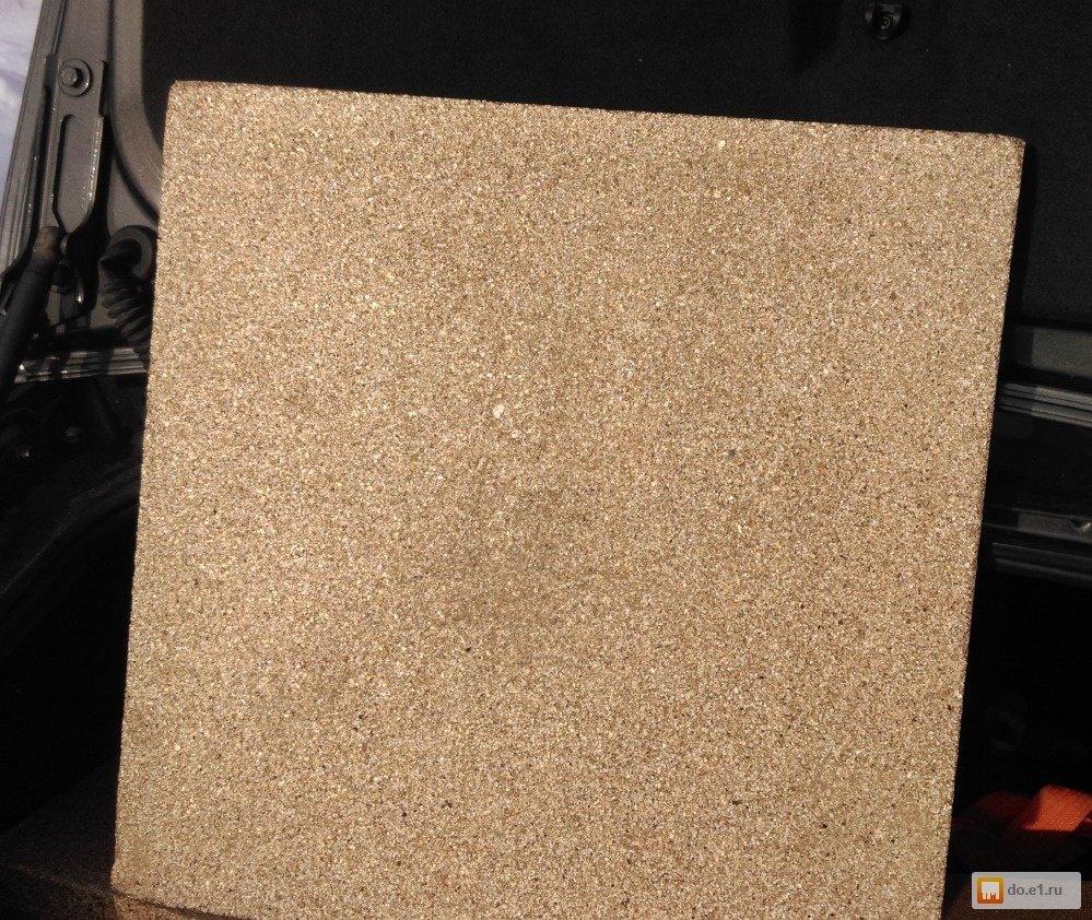Вермикулитовая плита 600Х600мм