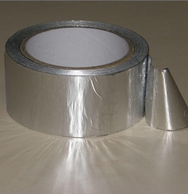 Скотч-фольга алюминиевая 50м