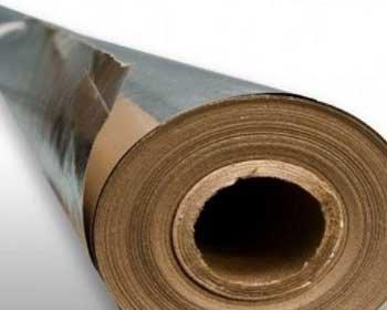 Фольга алюминиевая на бумажной основе