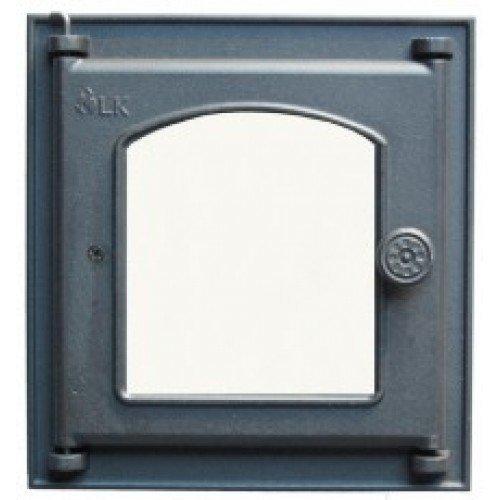 361 LK Дверца топочная со стеклом (250х280) Сербия