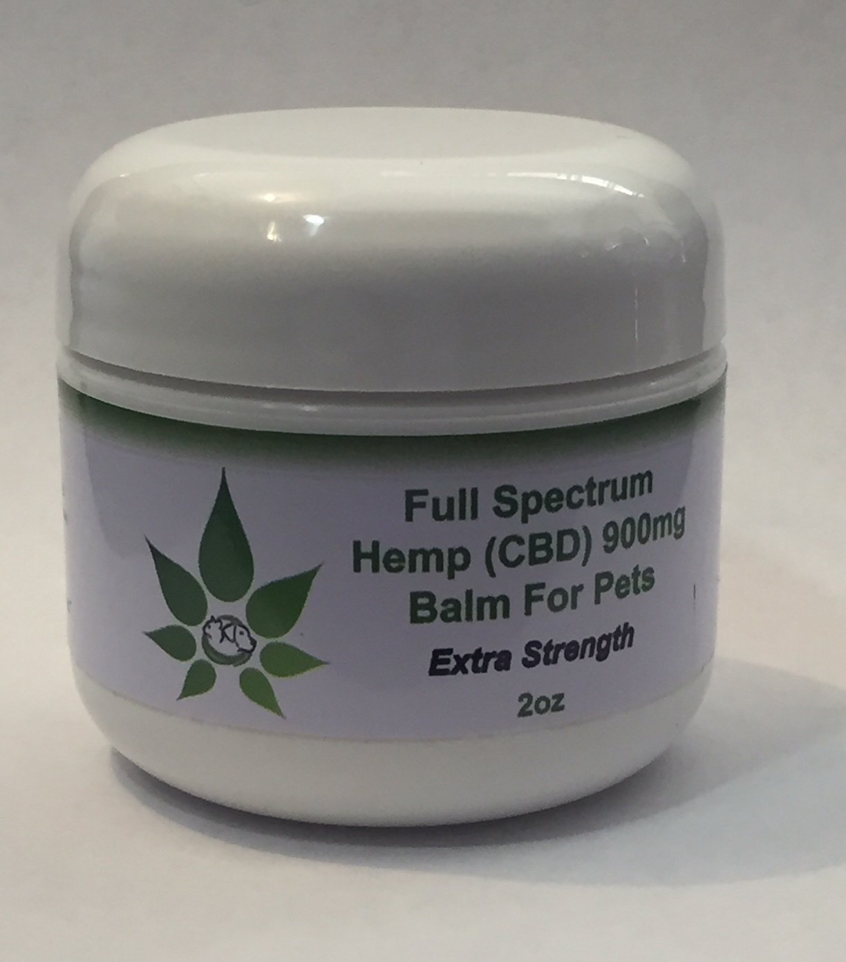 For Pets - Full Spectrum Hemp (CBD) Balm 900mg Extra Strength 2oz - Intensive Pain Relief!