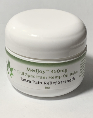 Full Spectrum Hemp Oil Balm (450mg Hemp Oil) - Extra Strength 1oz