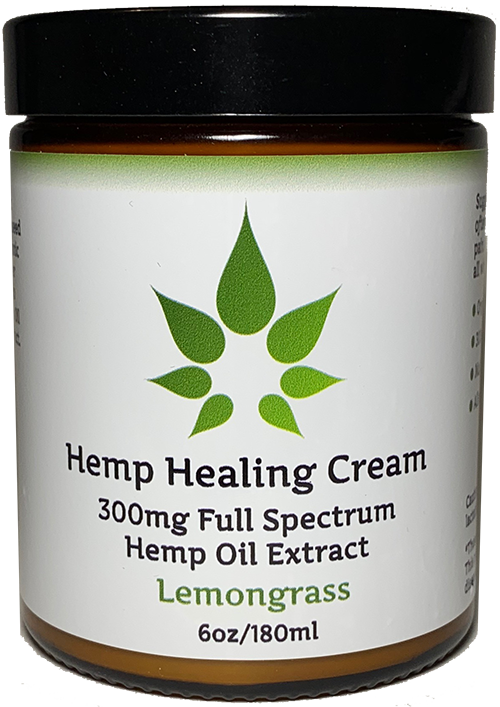 Full Spectrum Hemp Oil Pain Relief Cream with 300mg 6oz - Intensive Pain Relief!