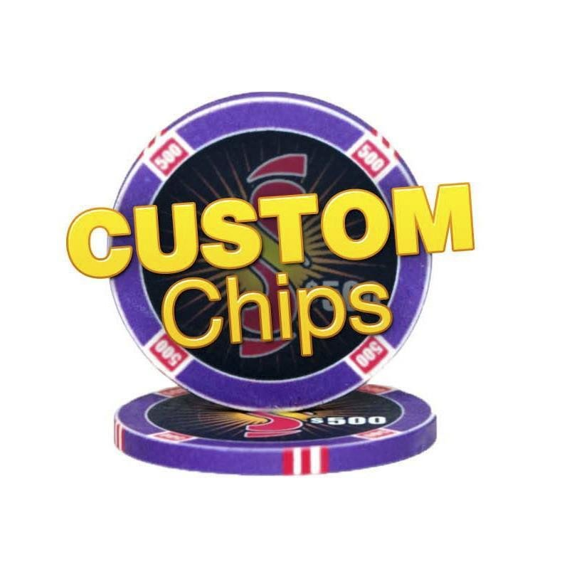 Custom Chips 25 chips a pack